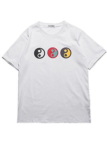 BOMOVO Herren GOSHA Super Premium Von Tai Chi S M L XL Verschiedene Farben Weiß