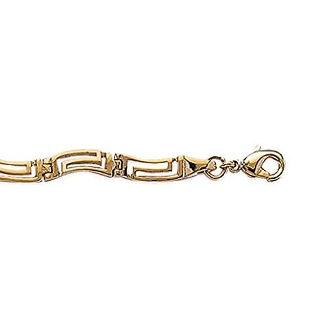 Isady – Adaleiz Gold – Armband Damen - 18 Karat (750) Gelbgold platiert – 19 cm länge