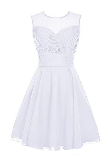 Find Dress Paillette Robe de Mariée Printemps été Princesse Femme Fille Robe de Cocktail Soirée pour Anniversaire Robe Demoiselle d'Honneur Mariage Femme Fille Enfant en Mousseline Blanc