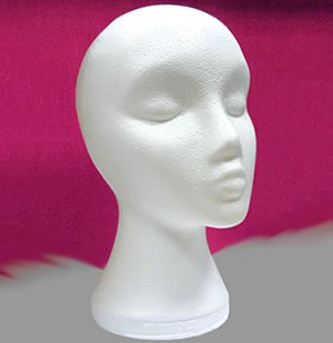 Polystyrene Head by Just For Fun