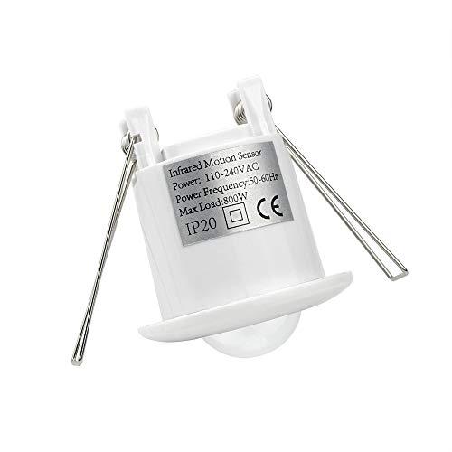 AC110-240V PIR-Schalter 360 Grad Sensor Motion Sensing Einbau Infrarot Decke Induktionsschalter Glühbirnen LED Licht Lampe