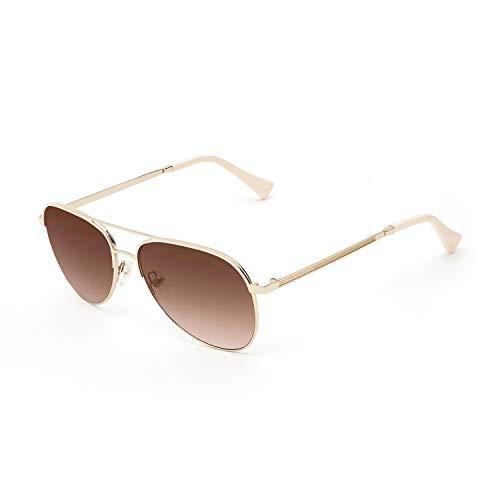 HAWKERS LACMA Gafas de sol, Dorado, One Size Unisex-Adult