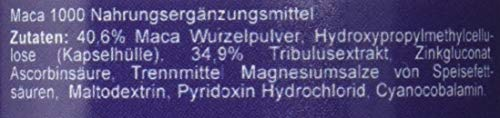 Maca 1000 plus Tribulus Potenzmittel - 2