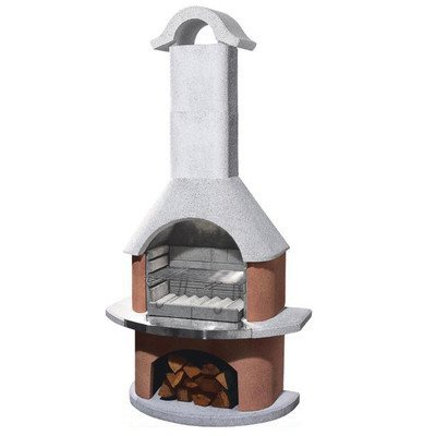 54cm Davos Masonry Charcoal Barbecue