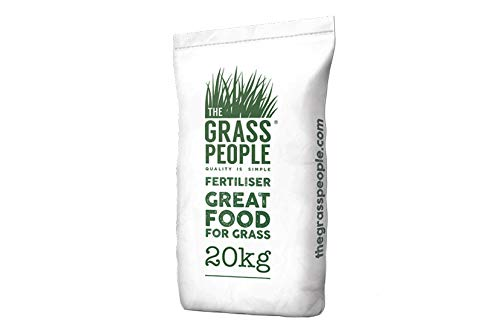 The Grass People Quick Release: Pre-Seed Fertiliser, Premium Protection, Fast Growing, Fast Acting Fertiliser for a New Lawn, Quick to Establish, Weed Resistant, Root Strengthening 20kg