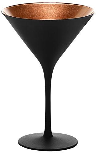 Stölzle Cocktail-und Martiniglas Olympic Serie 6 Gläser in schwarz - 1409425