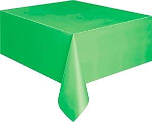 Mantel de Plástico - 2,74 m x 1,37 m - Verde Lima