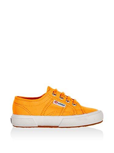 Superga 2750-Jcot Classic Scarpe da Ginnastica, Unisex Bambini Arancione (Bright Orange)