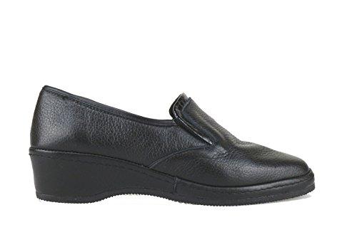 SUSIMODA classiche donna nero pelle AJ873 (42 EU)