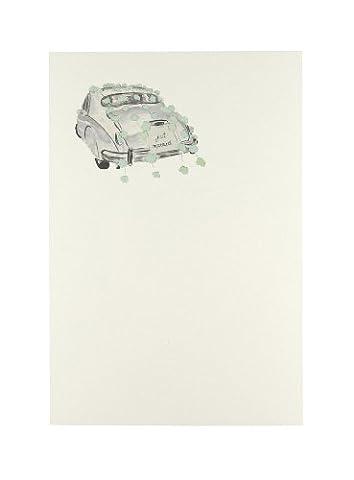 C.R. Gibson 10graines CID en forme de poire Imprintable Invitation, DE mariages de voiture