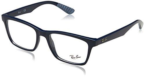 Ray-Ban Herren RB7034 Sonnenbrille, MATTE BLACK, 50
