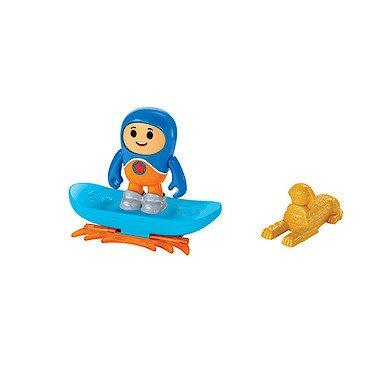 Fisher-Price – GO Jetters – Kyan & Géo-Board – Figurine et Accessoires Géo Jet