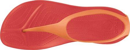 Crocs Sexi Flip Women, Sandales femme Rouge