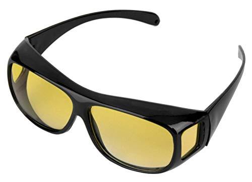 DrivePex - Nachtsichtbrille zum Autofahren | Nachtbrille autofahren - Nachtfahrbrille Auto | Night Vision - Überziehbrille für Damen und Herren (1)
