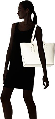 Joop! - Pure Kornelia Shopper Lhz, Borse a secchiello Donna Bianco (Offwhite)
