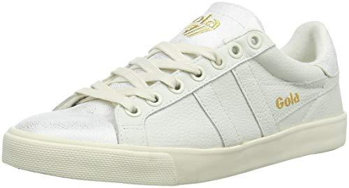 Gola Damen Orchid Shimmer Sneaker, Elfenbein (Off White OW), 38 EU -