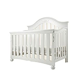 DUWEN-Cot bed Solid Wood Multifunctional Baby Cot European Toddler Bed Game Bed Sofa Bed Children's Bed (color : White)   1