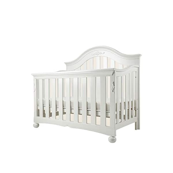 DUWEN-Cot bed Solid Wood Multifunctional Baby Cot European Toddler Bed Game Bed Sofa Bed Children's Bed (color : White) DUWEN-Cot bed 1. Multi-functional crib is the best gift for your baby. It not only can make your baby have a better sleep experience, but also cultivate your baby's independent consciousness and exercise your baby's hand and foot coordination ability. It is your best choice. 2. The multi-functional crib is made of environmentally friendly pine wood, which is tough and durable, not easy to crack and deform, and has a bearing capacity of over 120KG. 3. The crib is safe and environmentally friendly, non-irritating, harmless to the baby, mother can buy with confidence 1
