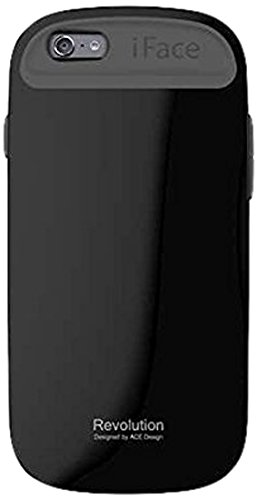 iFace Apple iPhone 6 Case Revolution Collection - Premium Slim Fit Dual Layer Protective Hard Case-Apple New iPhone 6 Case 6 2014 Model (4.7 inch)(Baby Pink) Black