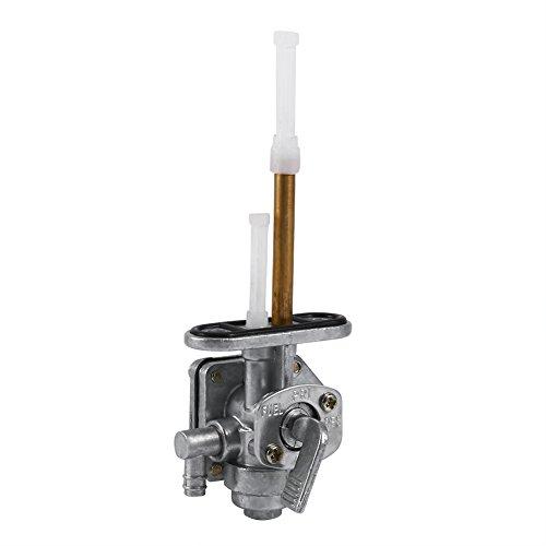 Qiilu Kraftstoffhahn Ventil Benzinhahn Schalter