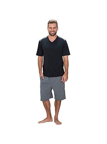 SHEEX 828 Motion Herren-T-Shirt, kurzärmlig - Schwarz - Small