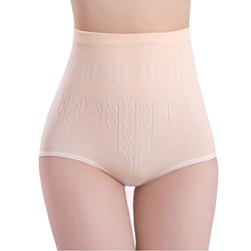 Elsta_Unterwäsche & Dessous Elsta Der Bauch Bauch Kontrollkörper Former der reizvollen Frauen hohe der Hosen abnimmt der Hosen abnimmt Seidige Unterhosen (Hautton)