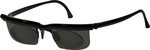 Adlens Sonnenbrille mit Sehstärke für Nah- Mittel- und Fernsichtbereich Lesebrille / schwarz / -2.75 Dioptrien