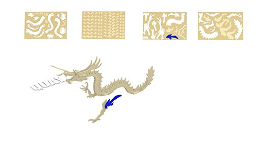 Dragon - QUAY Woodcraft Construction Kit FSC