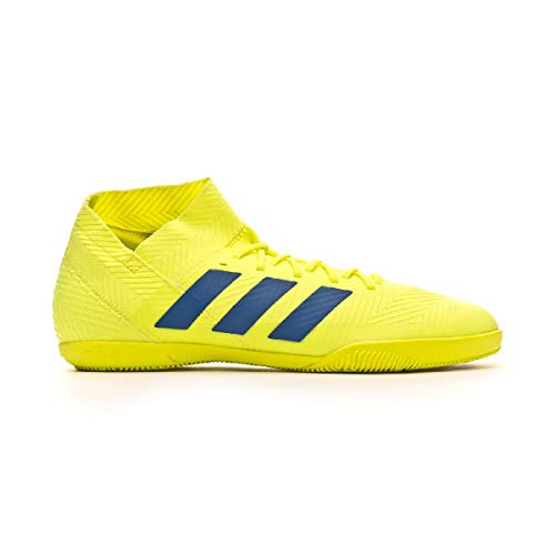 adidas Herren Nemeziz 18.3 IN Fußballschuhe Gelb Solar Yellow/Football Blue/Active Red, 45 EU