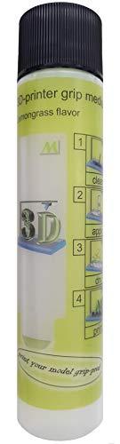 ML grip medium Haftmittel für 3D-Drucker. Anti-Warp-Effekt. Bessere Haftung auf dem Druckbett. Mit Zitronengras Aroma.