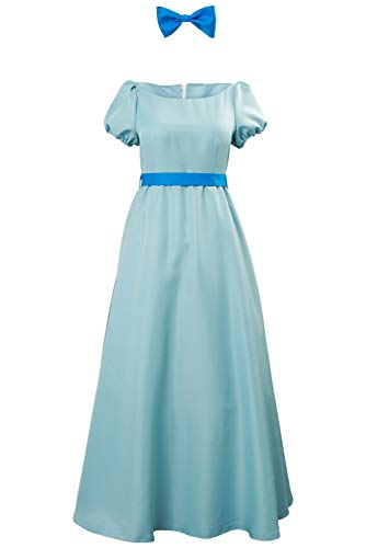 Für Kostüm Pan Damen Peter - RedJade Prinzessin Kleid Peter Wendy Pan Darling Princess Dress Cosplay Kostüm Damen S