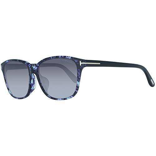 Tom Ford Damen attraktive Sonnenbrille Verlauf Schmetterling-Style Lila