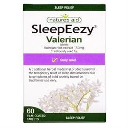 Natures Aid SleepEezy Valerian Root Extrac 60tablet from Natures Aid