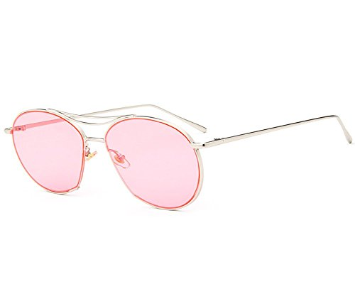 UMCCC Frauen-Sonnenbrille-Transparente Ozean-Stück-Art-Beschaffenheits-Straßen-Schießen-Reise