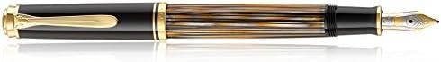 Pelikan Special Edition Souveran Serisi M400 Tortoiseshell Brown Dolma Kalem, M (MEDIUM)