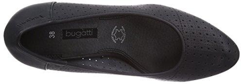 Bugatti V43626b, Chaussures à talons - Avant du pieds couvert femme Noir - Noir