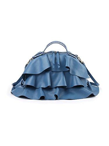 T 27x21x16 Con Shopper Mar Sexy Damen Blau centimeters Borbonese HPqwgtZxTH