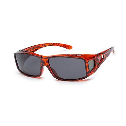 KISlink Rapid Eyewear Fashion Womens POLARISED Over Glasses UV400 Sonnenbrille, die über Normale Brillen für Damen passt. Ideal zum Fahren, Radfahren, Sport. (Farbe: 1)