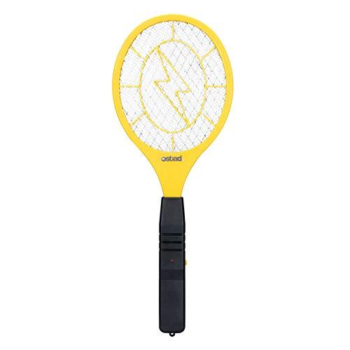 Ostad 3000 Volt elektrische Fliegenklatsche Mini Bug Zapper Outdoor | Fly Killer Indoor Electric Safe zur Verwendung bei Insekten im Innen- und Außenbereich Aus strapazierfähigem ABS-Material