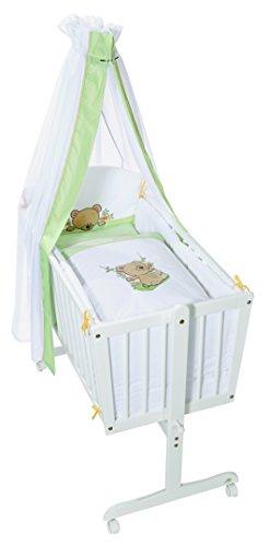 Easy Baby Wiegenset - Schaukelbär Grün