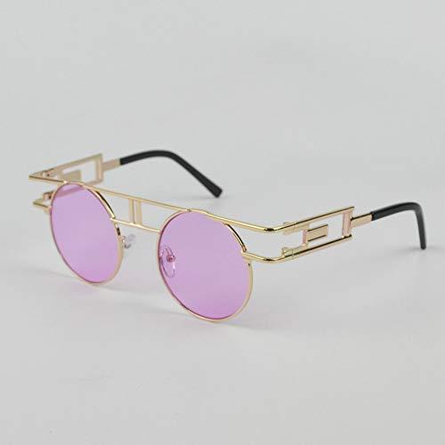 GBST Eyeglass Frame Male Literary Reading Glasses Metal Can Do Multi-Focus Reading Glasses Big Glasses,Purple