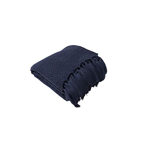 HYwot Caldera Acryl Decke Stricken Sofa Decke Weiche Geladene Fotografie Requisiten,a2 -