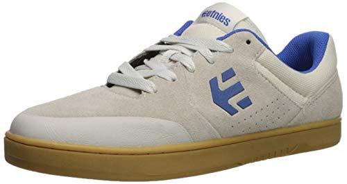 Etnies Marana Michelin Sneaker in Braun/Schwarz 4101000403 201, Weiß - White/Blue/Gum - Größe: 45 EU - Weiß Schwarz Schuhe Skate