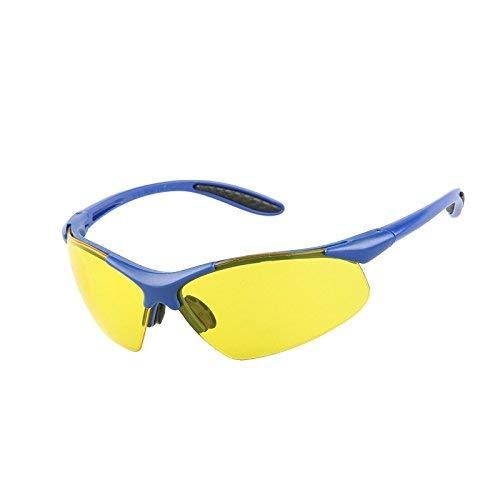 PRO FIT Viper Schutzbrille, gelbe Polycarbonatscheiben