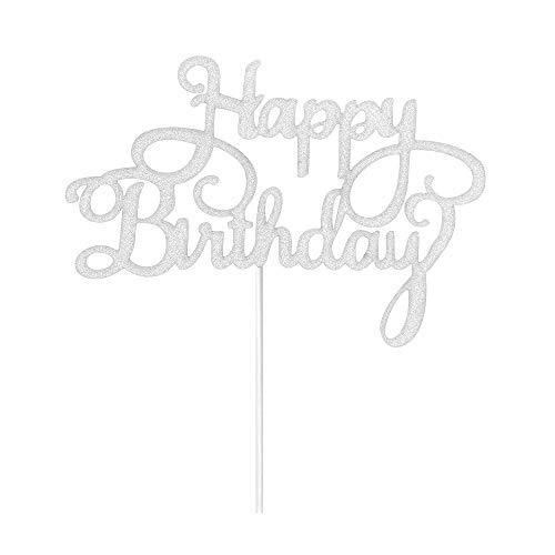 für Babys, Mädchen, Jungen, Erwachsene, Geburtstag, Party, Dekoration, silberfarben ()