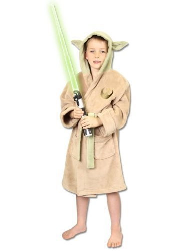 Groovy UK Kinder-Bademantel im Yoda-Design, Star -