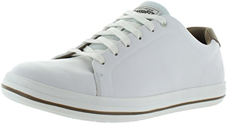 Skechers Mens Relaxed Fit Define Gorio Sneaker White US 14 M