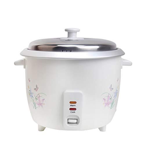 Arroceras Hervidor de arroz 4L Hervidor de arroz marino comercial multifuncional de 220 V, control con un solo botón y función automática de calentamiento, adecuado for 3-6 personas - for cocinar sopa