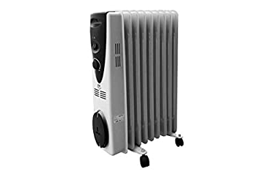 Öl-Radiator 2500W–11Elemente von EDM - Heizstrahler Onlineshop