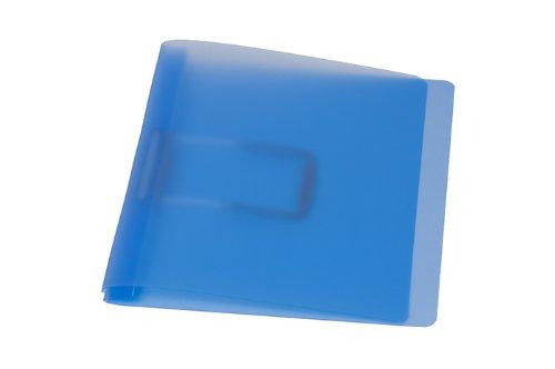 Schnellhefter, blau mit flacher, elastischer Schlauchheftung